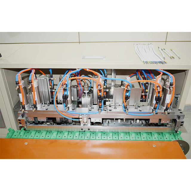 Multi-core Cable Stripping Twisting and Tinning Machine