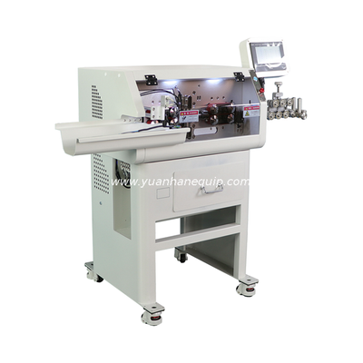 Multi-core Cable Cutting and Stripping Machine with Mechanical Arm