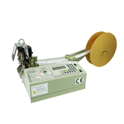 Automatic Clothing Label Cutting Machine with Hot and Cold Knife