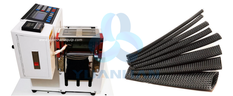 YHExpanded Braided Sleeving Cutting Machine