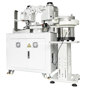 Fully Automatic Crimping and Insulation Sleeves Inserting Machine