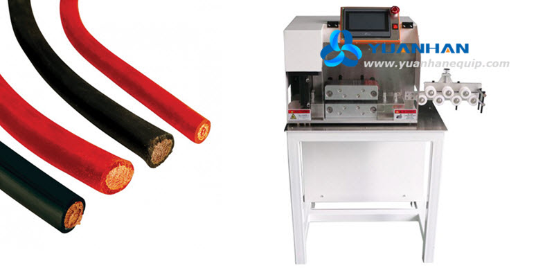 big battery cable cutting machine