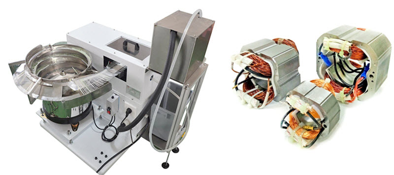 Automatic Cable Tie Machine for Stator Coil