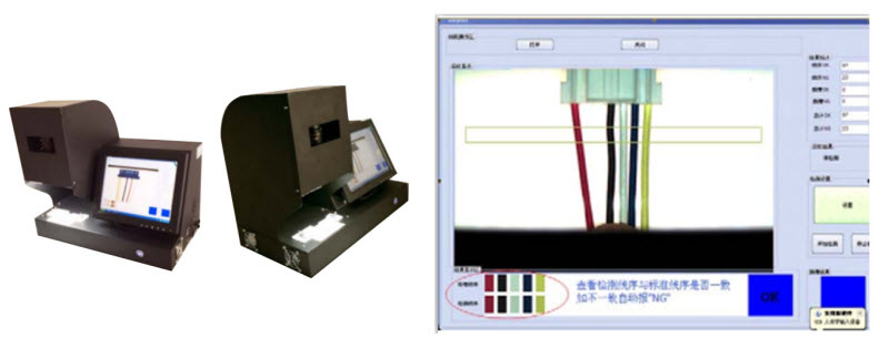 Wire Harness Color Detection System