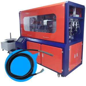 Wire Cutting Stripping and Twist Tie Machine