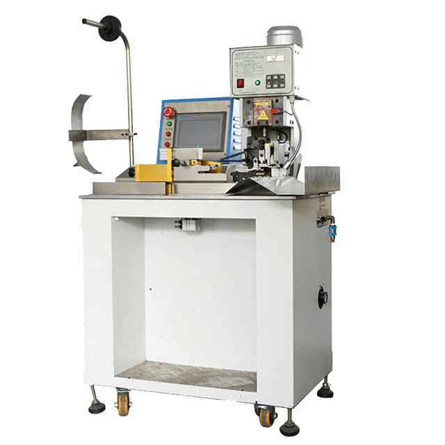Semi-automatic Flat Cable Terminal Crimping Machine