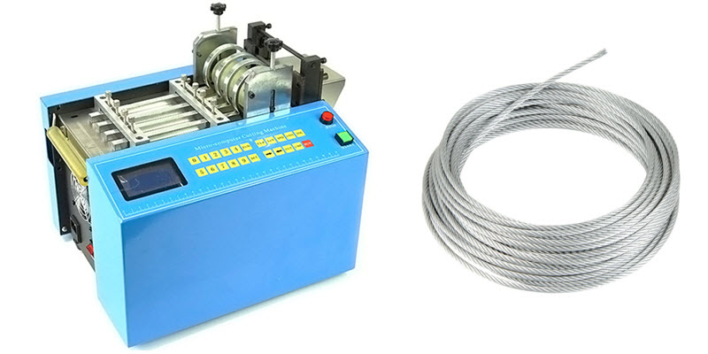 wire rope cutting machine