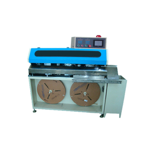 Fully Automatic Multi-core Cable Crimping and Shrinkable Tubing Inserting Machine