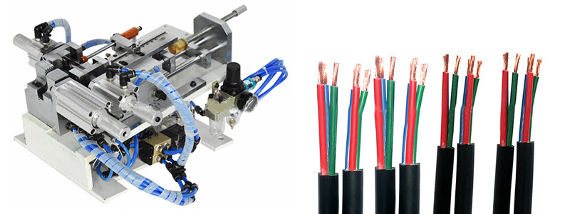 Pneumatic Cable Outer Sheath and Core Wires Stripping Machine