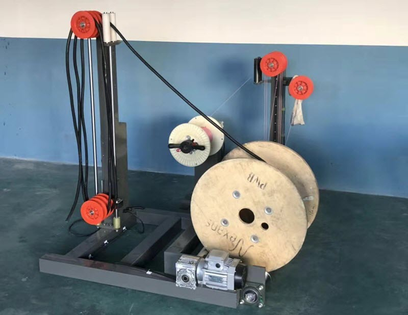 cable prefeeder machine