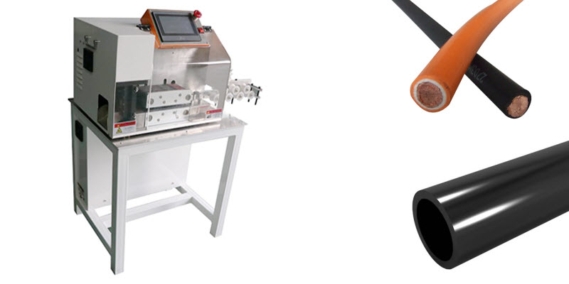 Cutting Machines for Processing Wire, Cable and Tubing YH-QC300