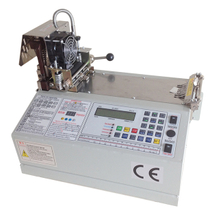 Automatic Hot & Cold Knife Woven Belt Cutter Machine