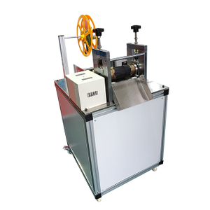 Ultrasonic Webbing Cutting Machine with Hole Puncher