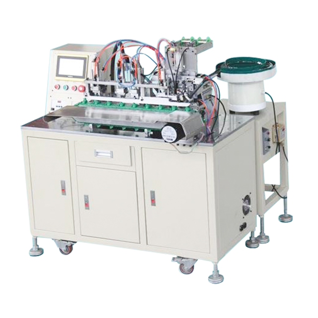 Automatic DC/RCA Connector Soldering Machine